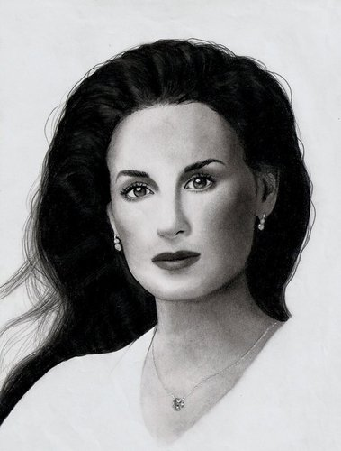 Demi Moore Drawing 2