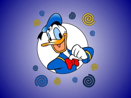 Donald finds his smile !