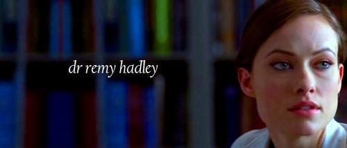 Dr Remy Hadley