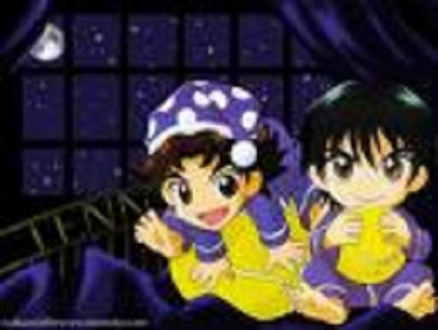Eiji and Ryoma