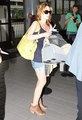 Elizabeth Reaser- at the airport heading to eclipse filming - twilight-series photo