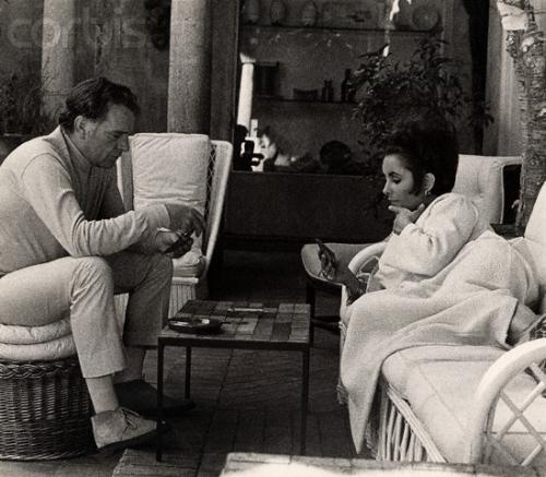Elizabeth Taylor and Richard Burton Playing Cards
