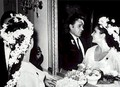 Elizabeth Taylor and Richard 버튼, burton Wedding