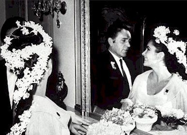 Elizabeth Taylor and Richard 伯顿 Wedding