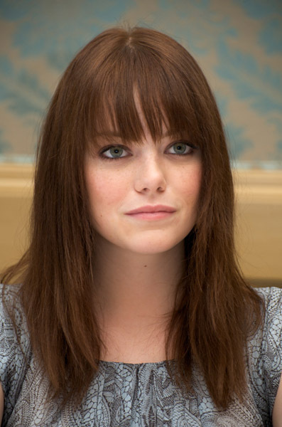 emma stone hair in zombieland. 2010 emma stone quotes. emma