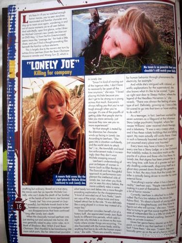 Erica in magazines