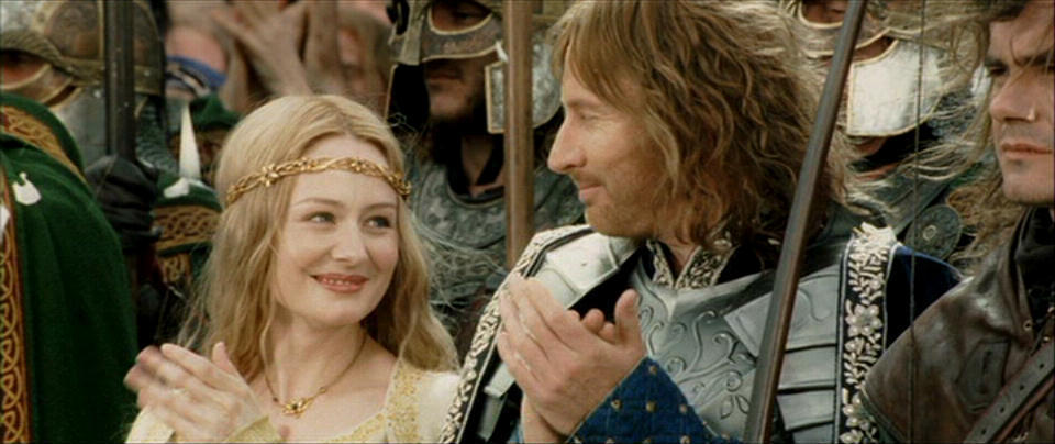 eowyn and aragorn relationship