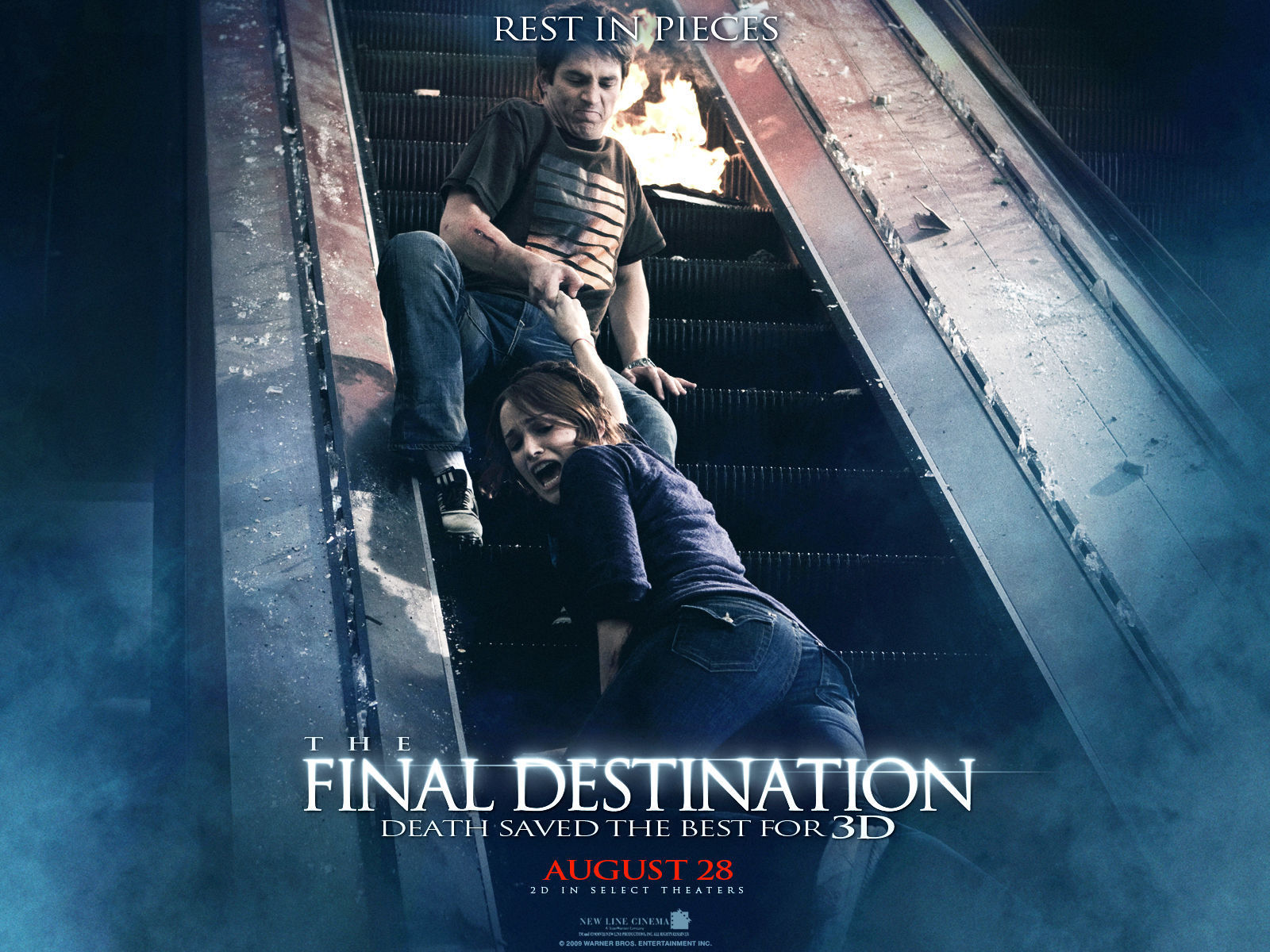Horror Movies Final Destination 3D  2009  wallpaperFinal Destination Movie