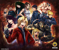 Full Metal Alchemist character collage