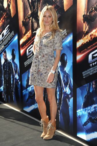 G.I. Joe The Rise Of Cobra - Sydney Photocall - sienna-miller Photo