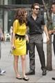 Gossip Girl Set W/ Leighton (8.5.09)