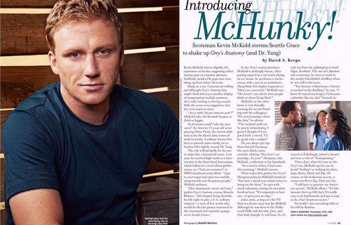 Grey's magazine scans