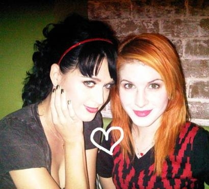 Hayley and Katy Perry