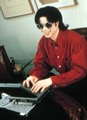 Interviews > Internet chat - michael-jackson photo