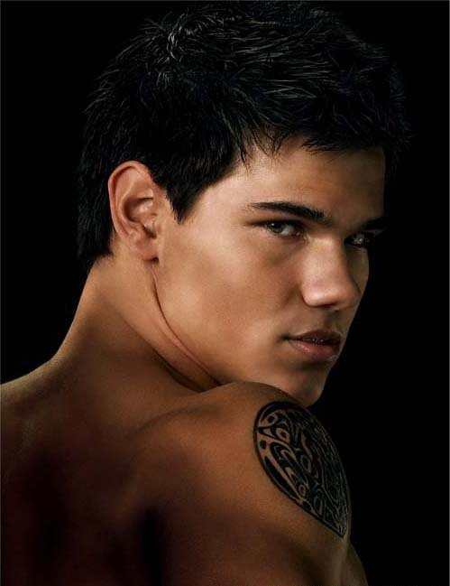 Shirtless Taylor Lautner Poster