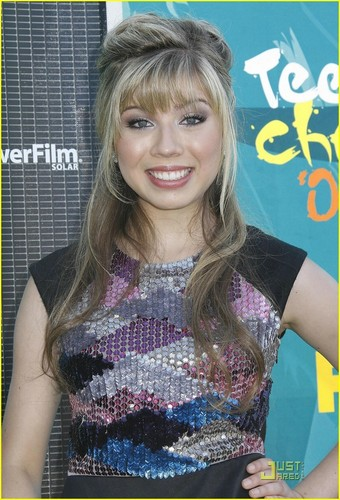 Jennette @ the 2009 Teen Choice Awards
