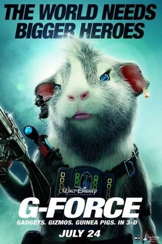 Juarez's G Force Poster