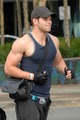 Kellan Lutz and Elizabeth Reaser in Vancouver - twilight-series photo
