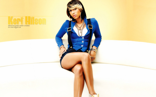 Keri Hilson wallpaper containing bare legs, tights, and a leotard titled Keri Hilson