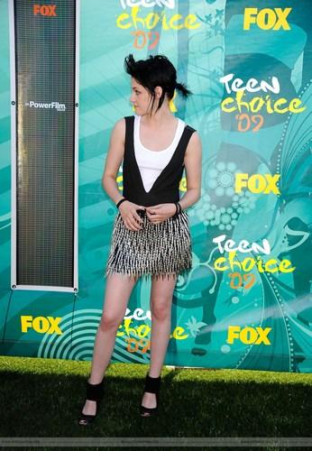 Kristen at Teen Choice Awards