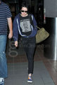Kristen leaving LAX - twilight-series photo