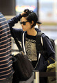 Kristen leaving LAX - twilight-series photo