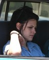 Kristen out with her Mom in LA - twilight-series photo