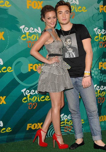 Leighton & Ed at the Teen Choice Awards 2009
