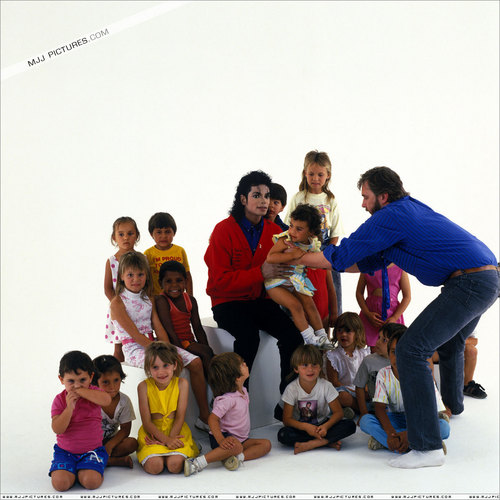 MJ with Kids