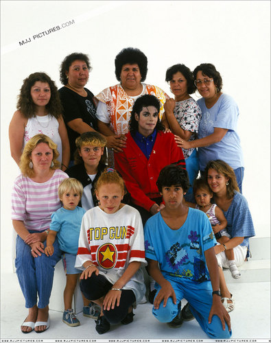MJ with Kids