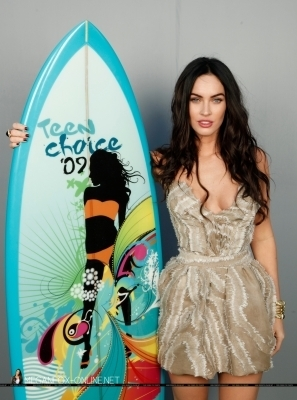 Megan @ 2009 Teen Choice Awards