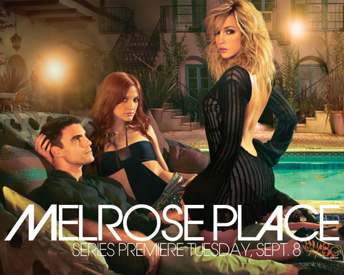 Melrose Place wallpaper containing a business suit, a well dressed person, and a portrait called Melrose Place wallpaper
