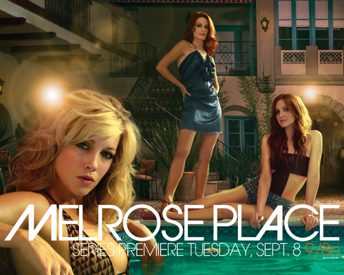 Melrose Place wallpaper with a leotard entitled Melrose Place wallpaper