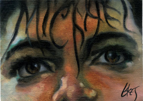 Michael Jackson Oil Paintings