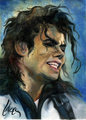 Michael Jackson Oil Paintings - michael-jackson photo