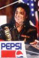 Michael and Pepsi - michael-jackson photo