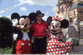 Michael in Disneyland - michael-jackson photo
