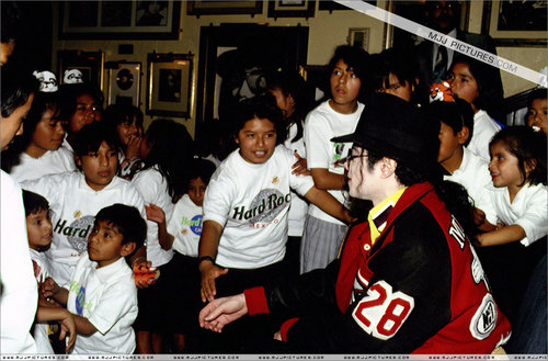 Michael visits Mexico ;)