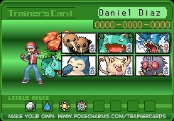 My Poke Trainer Card
