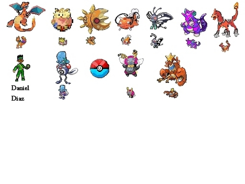 My pokemon Sprites