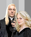 Narcissa and Lucius Malfoy