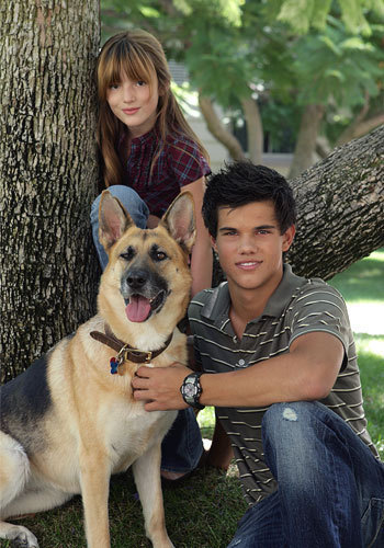 Twilight Series wallpaper possibly containing a german shepherd entitled Nessie and Jacob