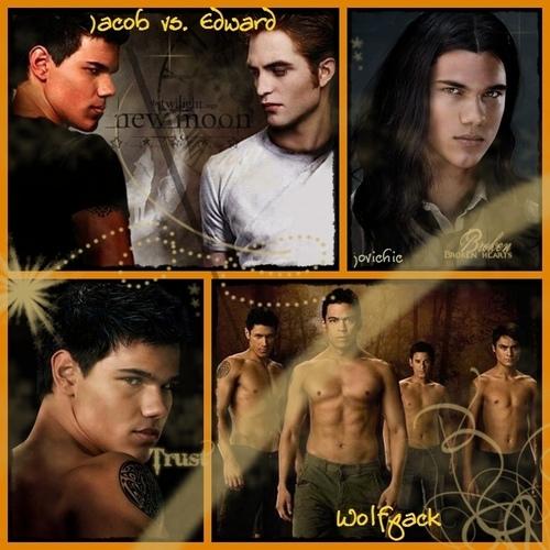 New Moon Jacob n Edward