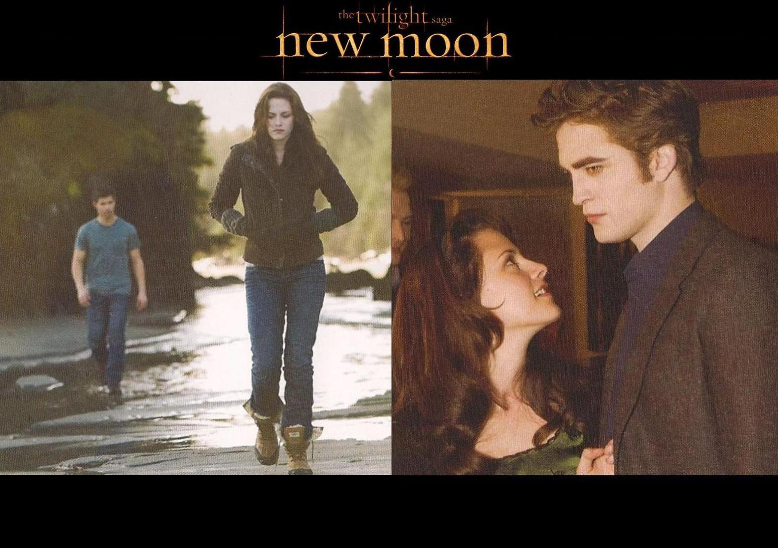 New Moon achtergrond from Calender