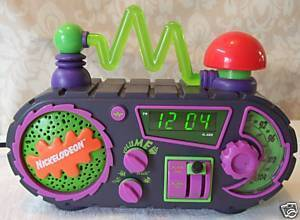 Nickelodeon Alarm Clock