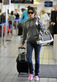 Nikki Reed leaving LAX - twilight-series photo