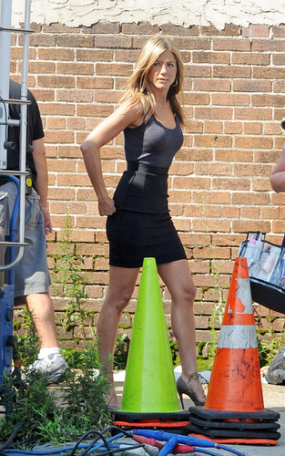 "On the set of ""The Bounty"" - August 10, 2009"