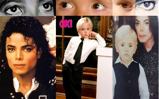 PRINCE AND HIS DADDY THE KING OF POP