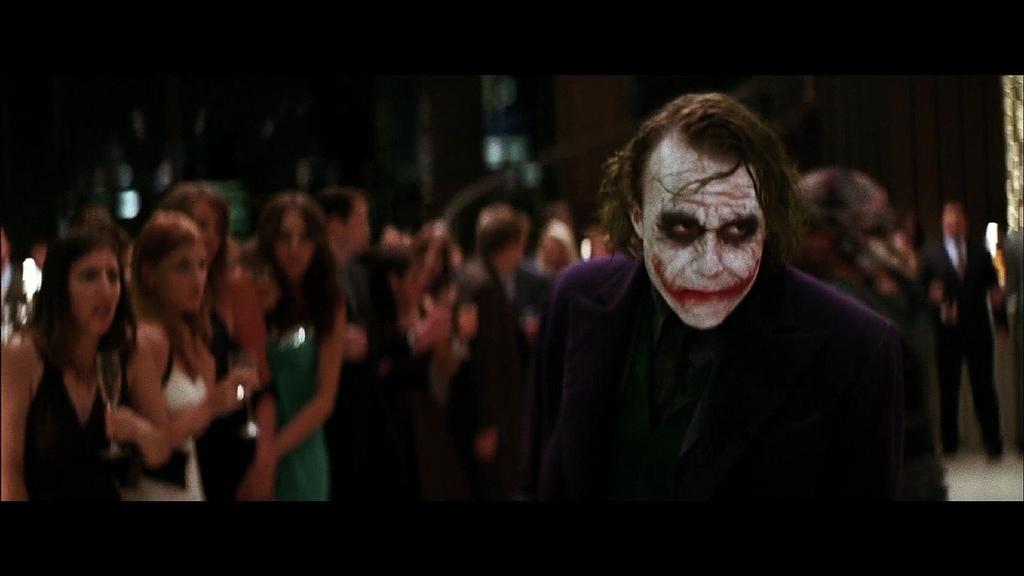 the joker scenes