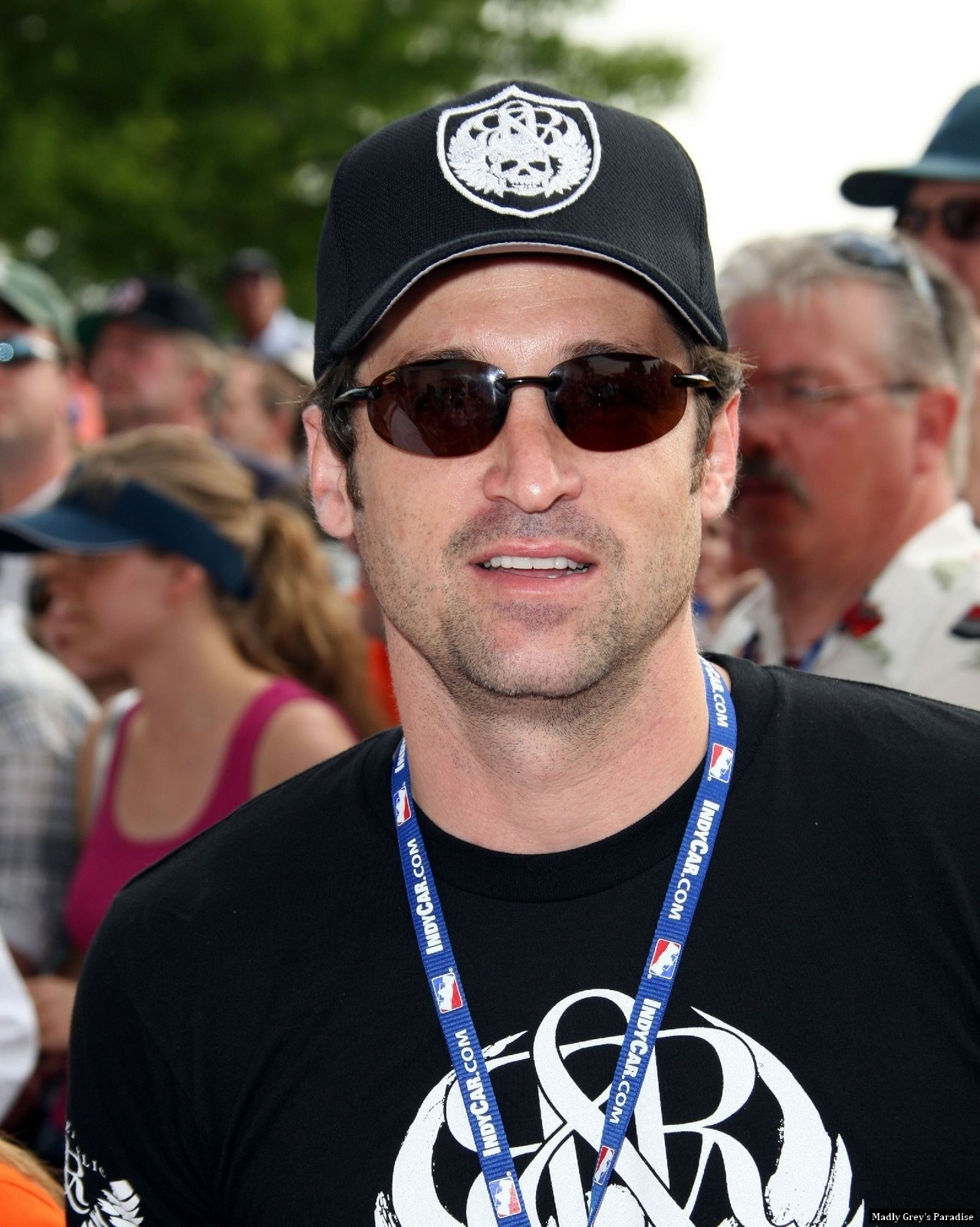 Patrick Dempsey- Indianapolis 500 90th Running - patrick-dempsey photo